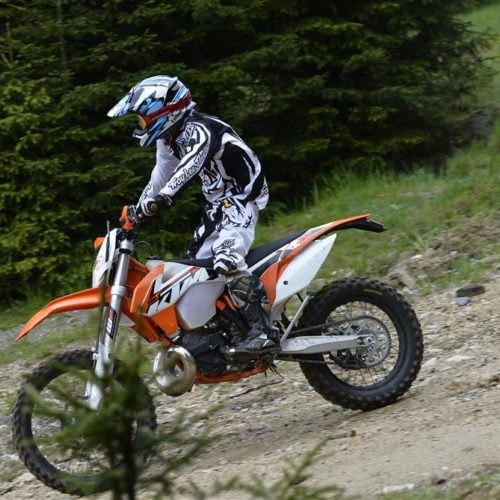 KTM has officially launched the 2015 EXC range in Sibiu, Romania