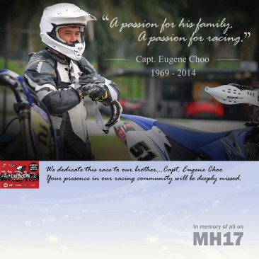 TRIBUTE TO ALL ON BOARD MH17 & CAPT. EUGENE