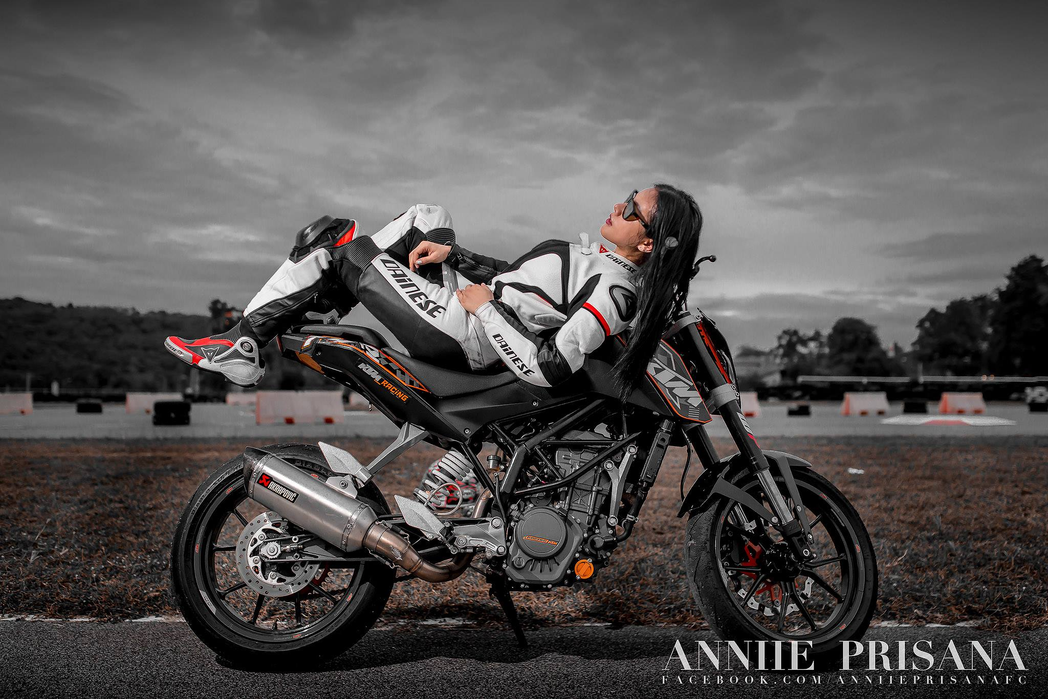 biker chick moto chicks annie returns tracks bike rally anastasiya thailand asphalt chonburi favourite