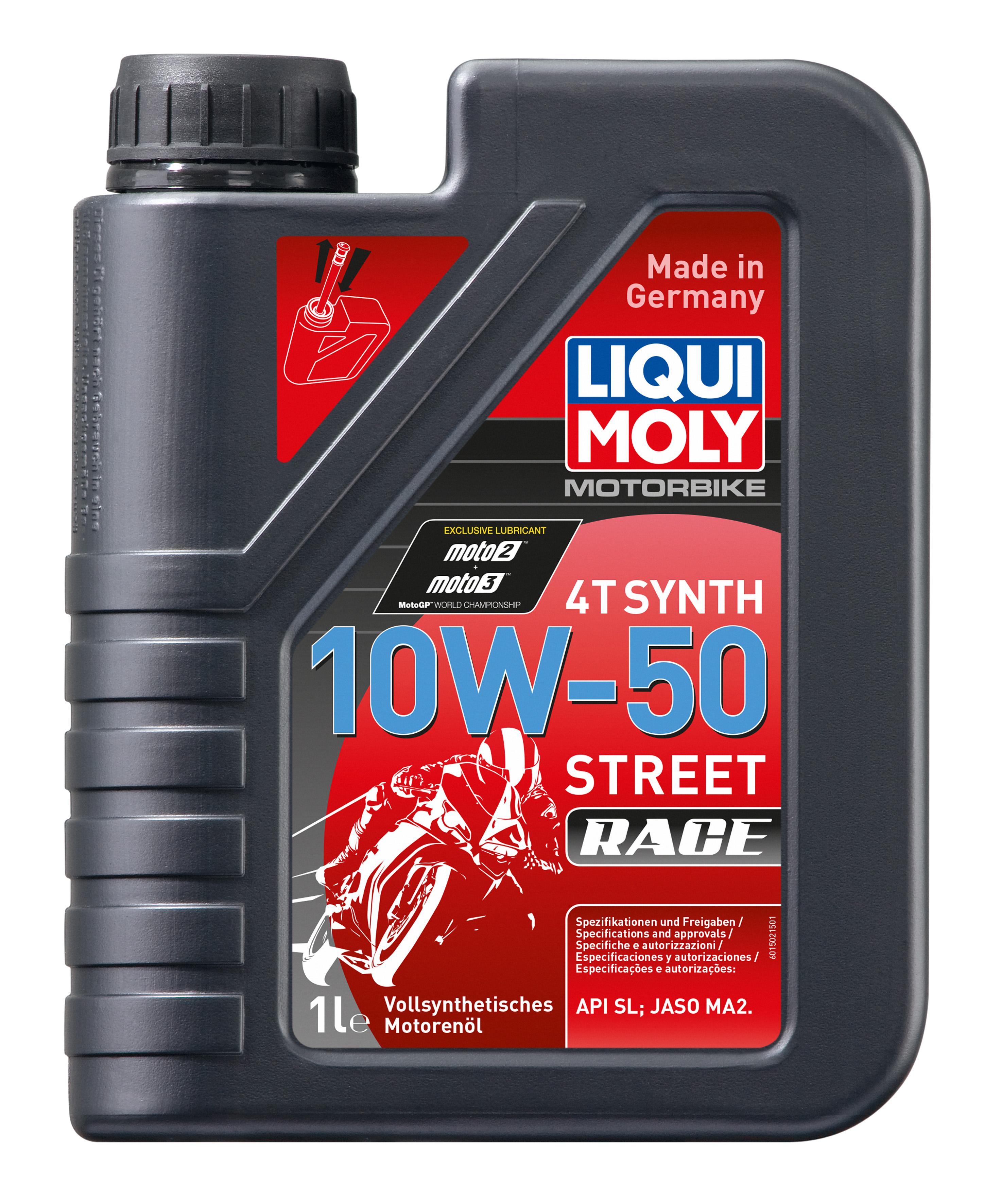 I Moto Powerup Liqui Moly 10w 50 Street Race