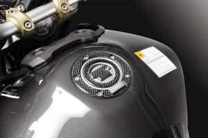 Carbon Tank Cap Sticker