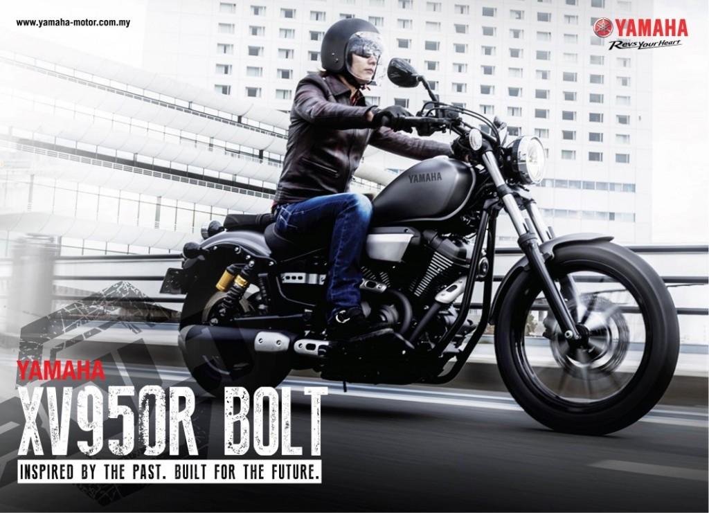 I Moto Yamaha Xv950r Bolt Launched In Malaysia