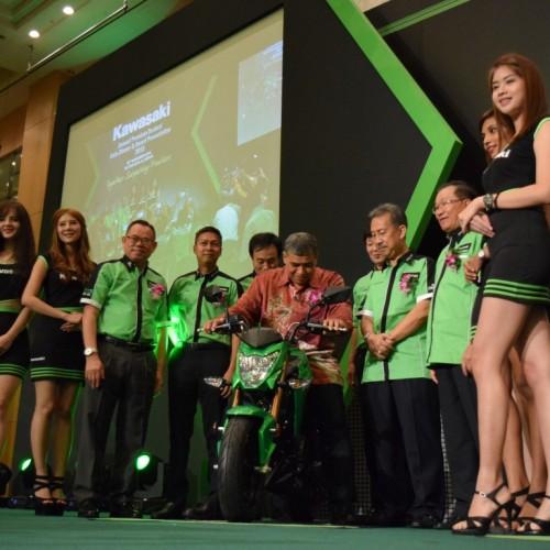 KAWASAKI MALAYSIA LAUNCHES THREE EXCITING NEW MODELS