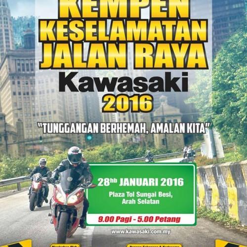 ROAD TRANSPORT MINISTER KICKS OFF KAWASAKI ROAD SAFETY CAMPAIGN 2016