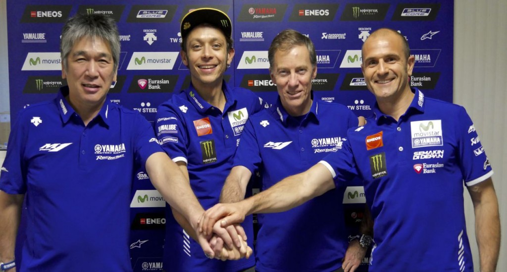 Rossi Signs 2 Years extension photo