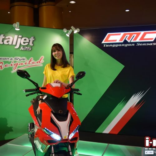 CMC ITALJET 125 SCOOTER LAUNCHED
