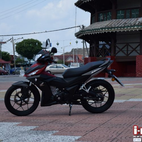 TRACK TEST HONDA RS150R WITH KHAIRUL IDHAM PAWI