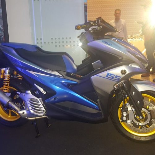"""""""REVOLUTION IN INNOVATION"""" YAMAHA NVX 155 LAUNCHED"""