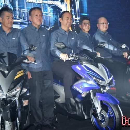 """REVOLUTION IN INNOVATION"" YAMAHA NVX 155 LAUNCHED"