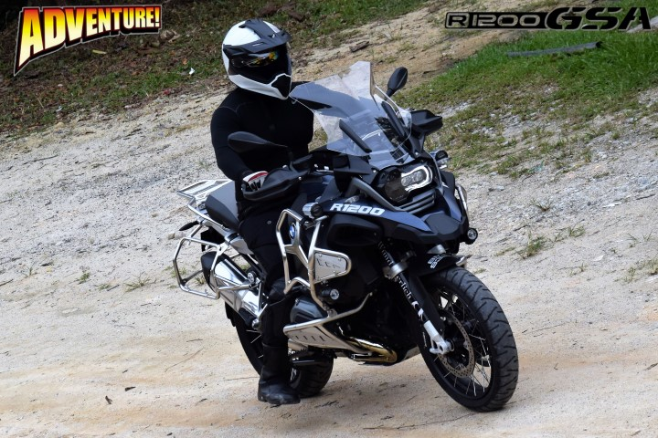 BMW R 1200 GS ADVENTURE GOES OFFROAD!