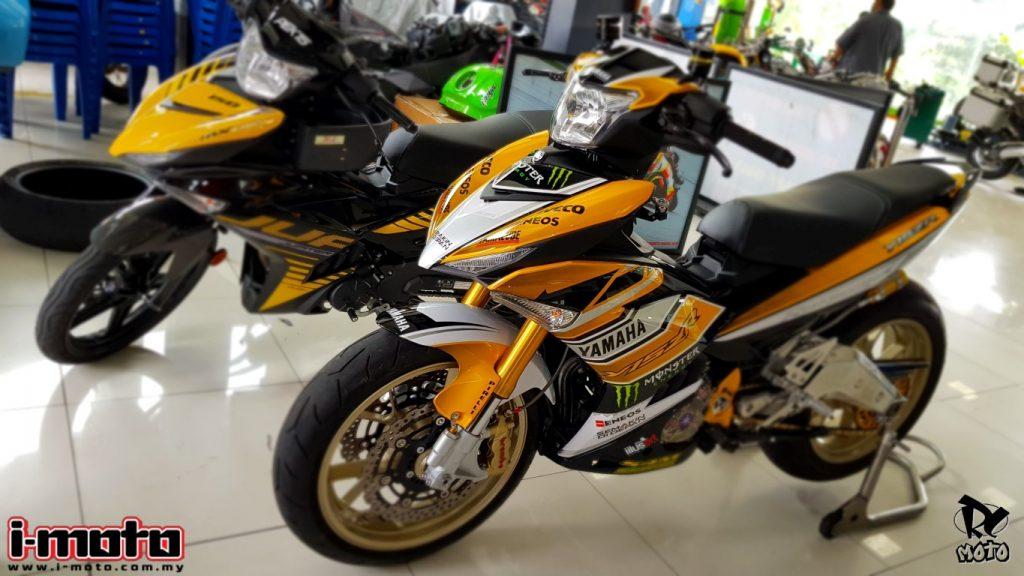 I Moto Custom Yamaha Y15zr R6