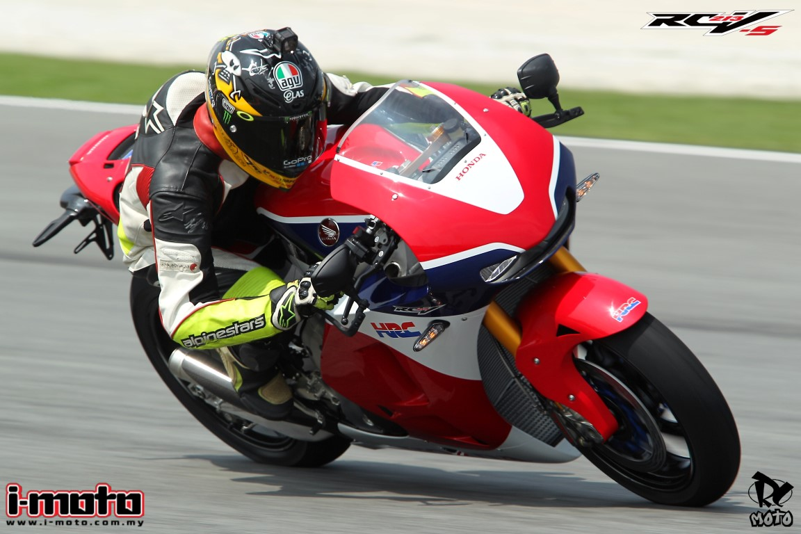 TRACKTEST: HONDA RC213V-S AT SEPANG CIRCUIT