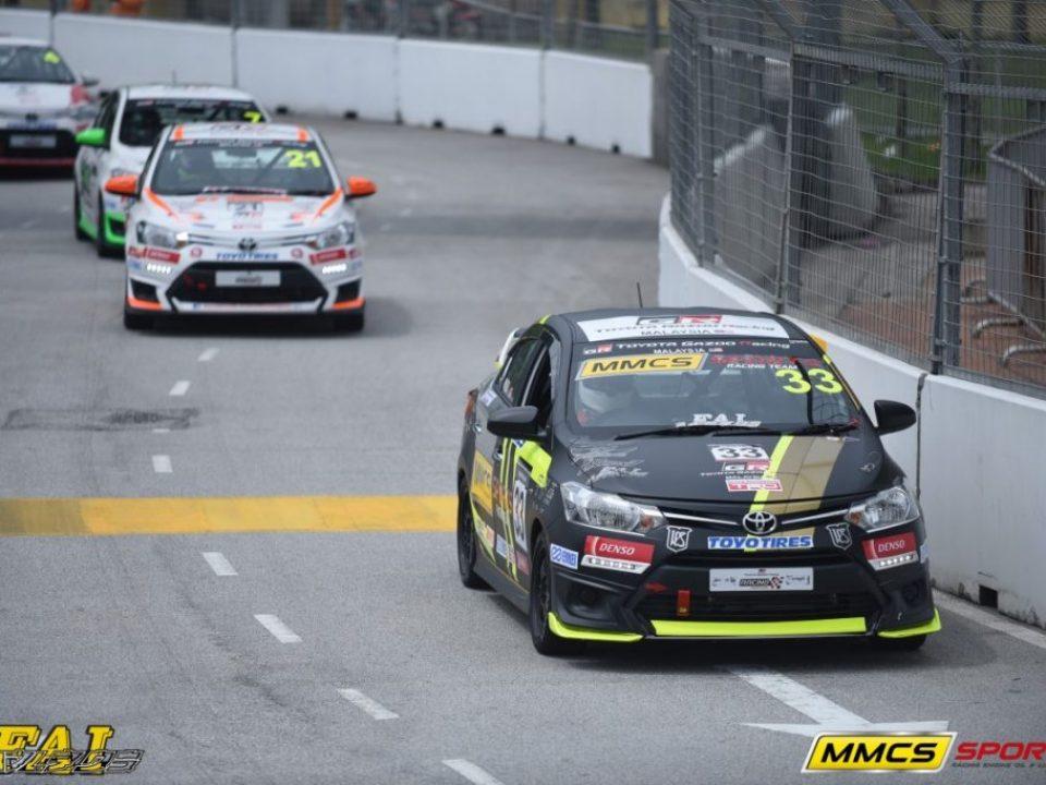 Ser Meng Hui takes the lead in Race 1 Super Sporting Class (Medium)