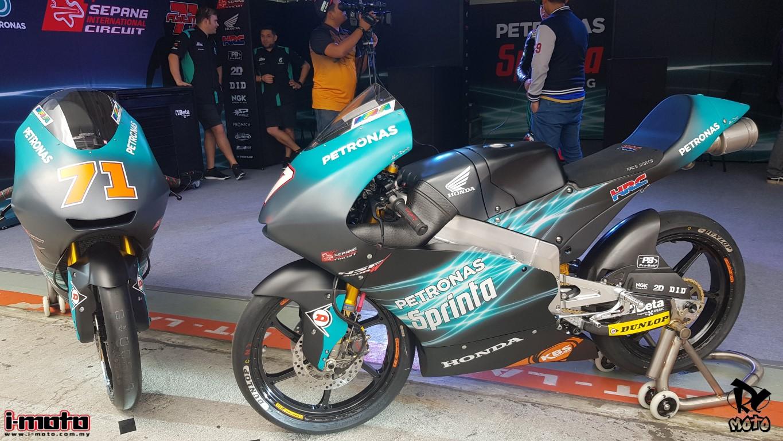 i-Moto | MOTO3: PETRONAS SPRINTA RACING REVEALS NEW LIVERY