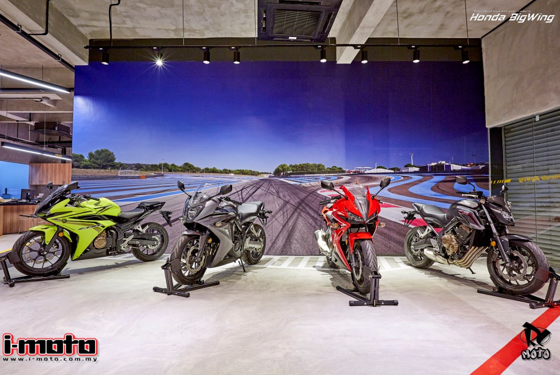 """THE FIRST HONDA""""BIGWING"""" BY EE TIONG MOTORSPORTS SDN. BHD. OPENS IN SETAPAK"""