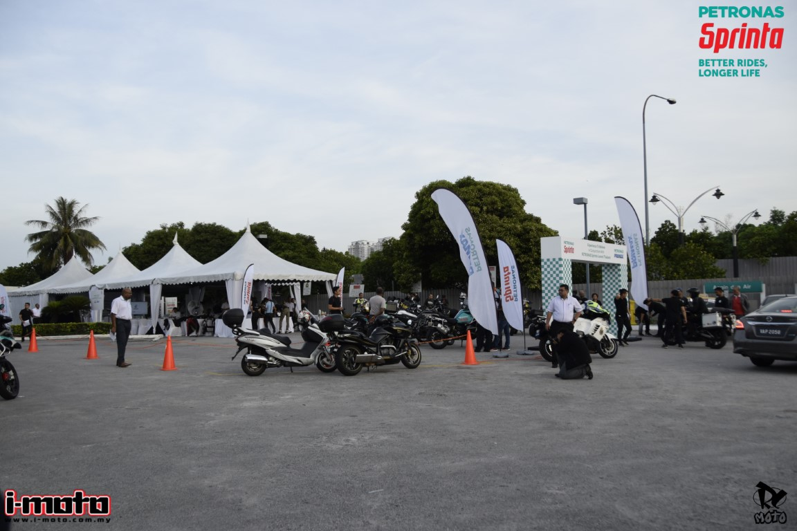 Petronas Sprinta with UltraFlex™ Experience to Believe Convoy to Phuket Bike Week