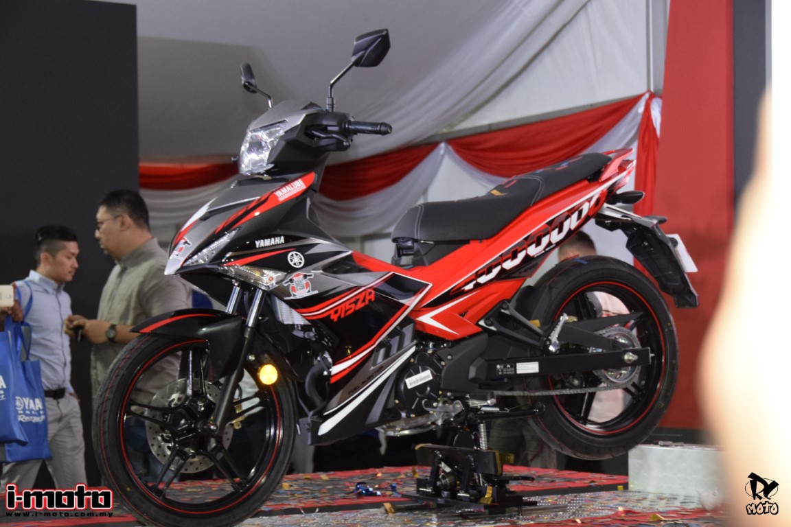 I Moto Yamaha Rolls Out Its 4 Millionth Motorcycle In Malaysia