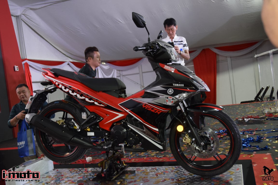 YAMAHA ROLLS OUT ITS 4 MILLIONTH MOTORCYCLE IN MALAYSIA