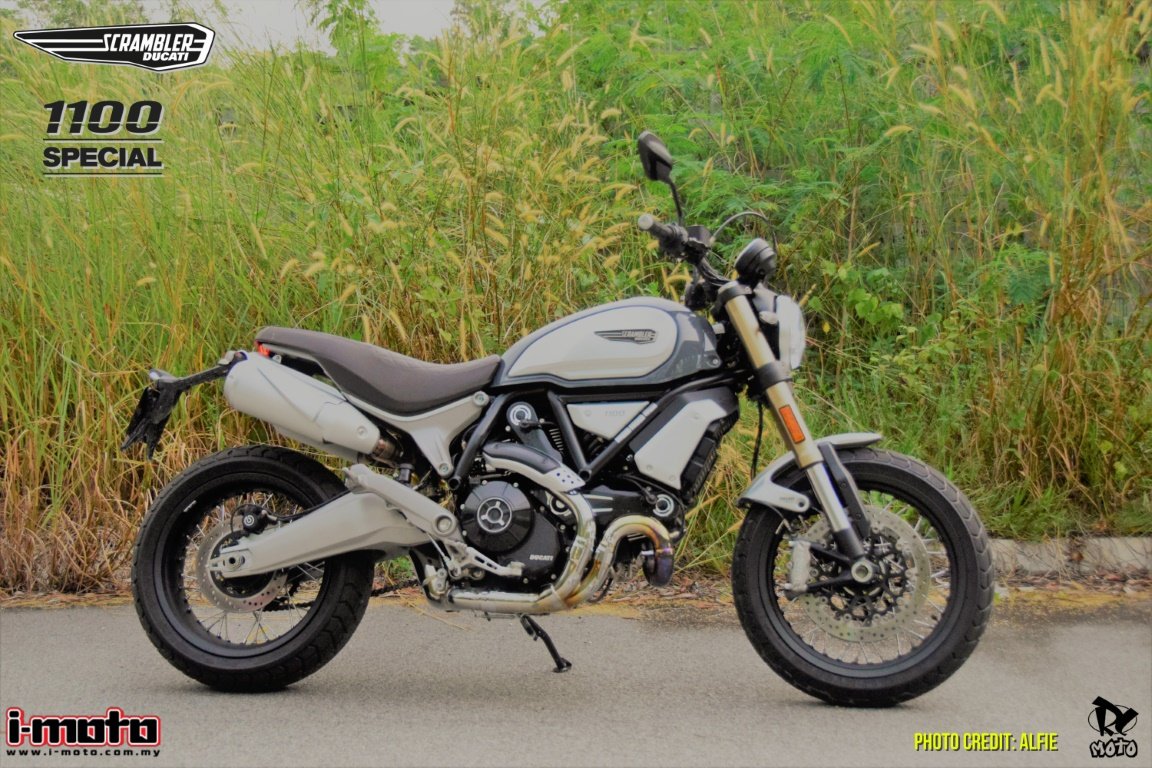 CALL ME THE BIG DADDY DUCATI SCRAMBLER 1100 SPECIAL