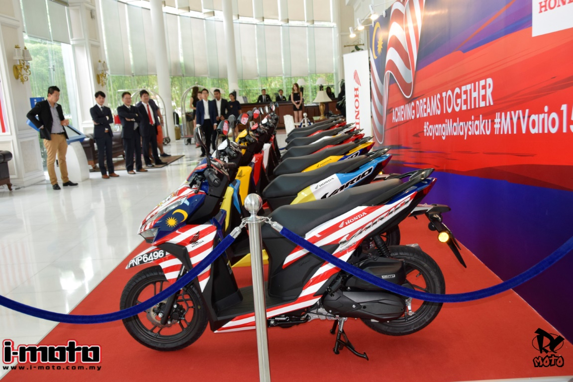 HONDA VARIO 150 LAUNCHED FROM RM7,199-RM7,399
