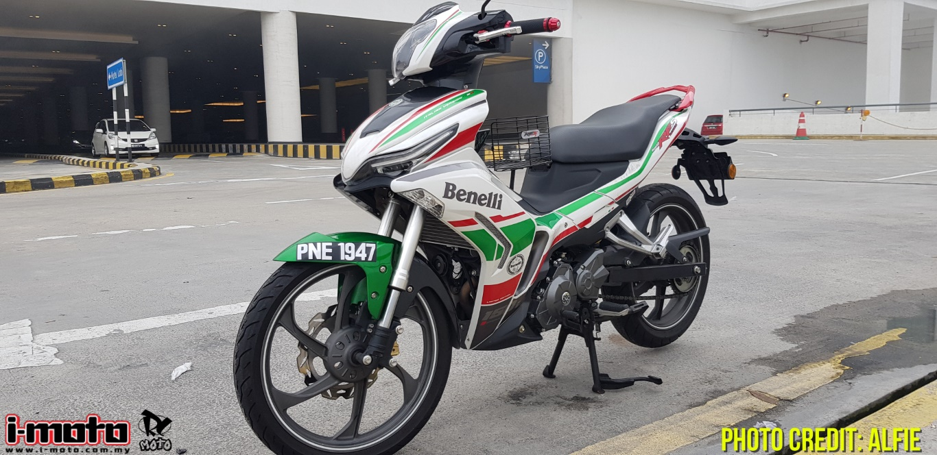 i-Moto | ROAD TEST: BENELLI RFS 150i V1 LIMITED EDITION