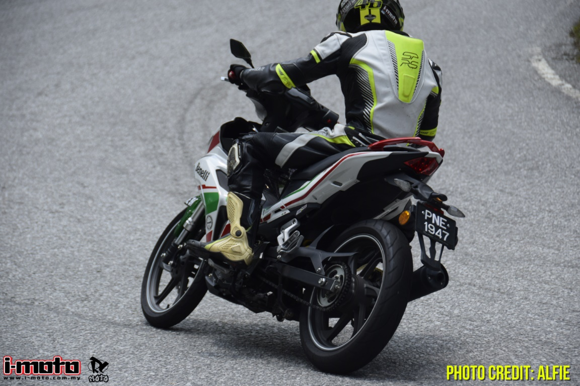 i-Moto | ROAD TEST: BENELLI RFS 150i V1 LIMITED EDITION
