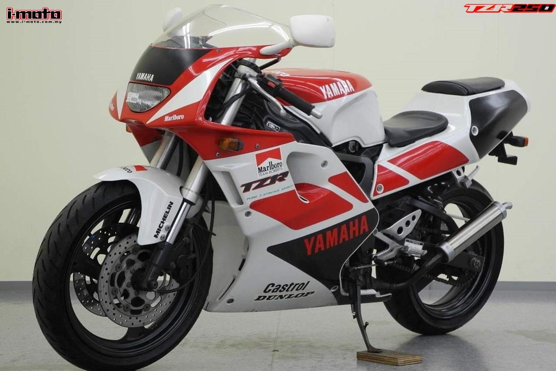 I Moto I Moto Flashback 1991 Yamaha Tzr250 3xv
