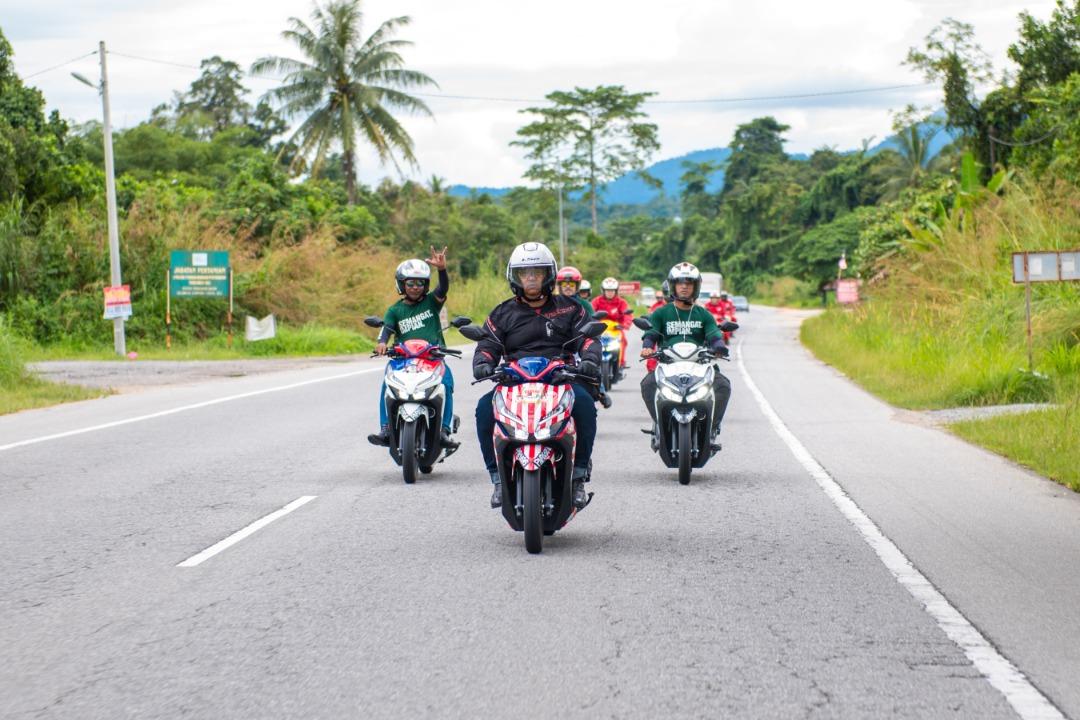 THE JELAJAH VARIO SAYANGI MALAYSIAKU RIDE