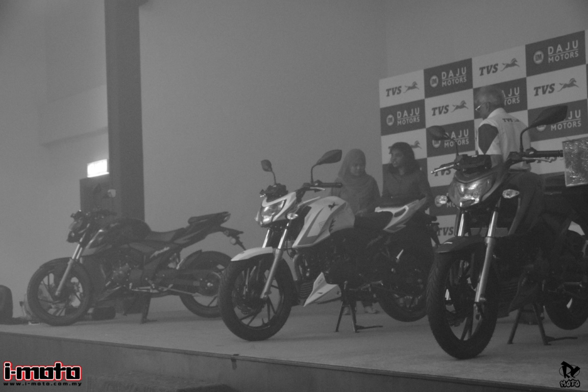 TVS MOTORCYCLES IS GEARED TO STORM THE MALAYSIA MARKET WITH TWO NEW MODELS