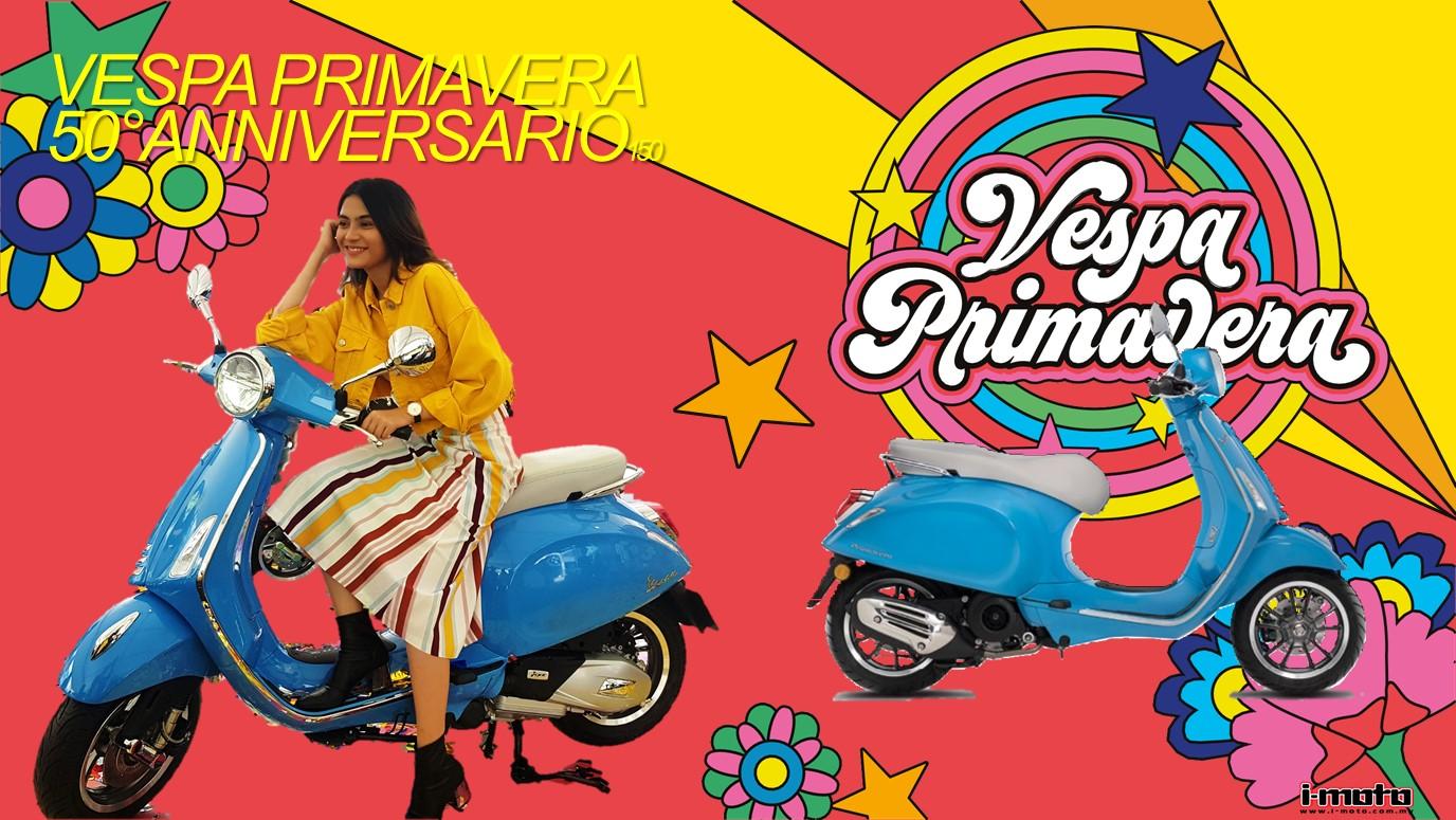 i-Moto | LAUNCHED: VESPA PRIMAVERA 50°ANNIVERSARIO RM16,300