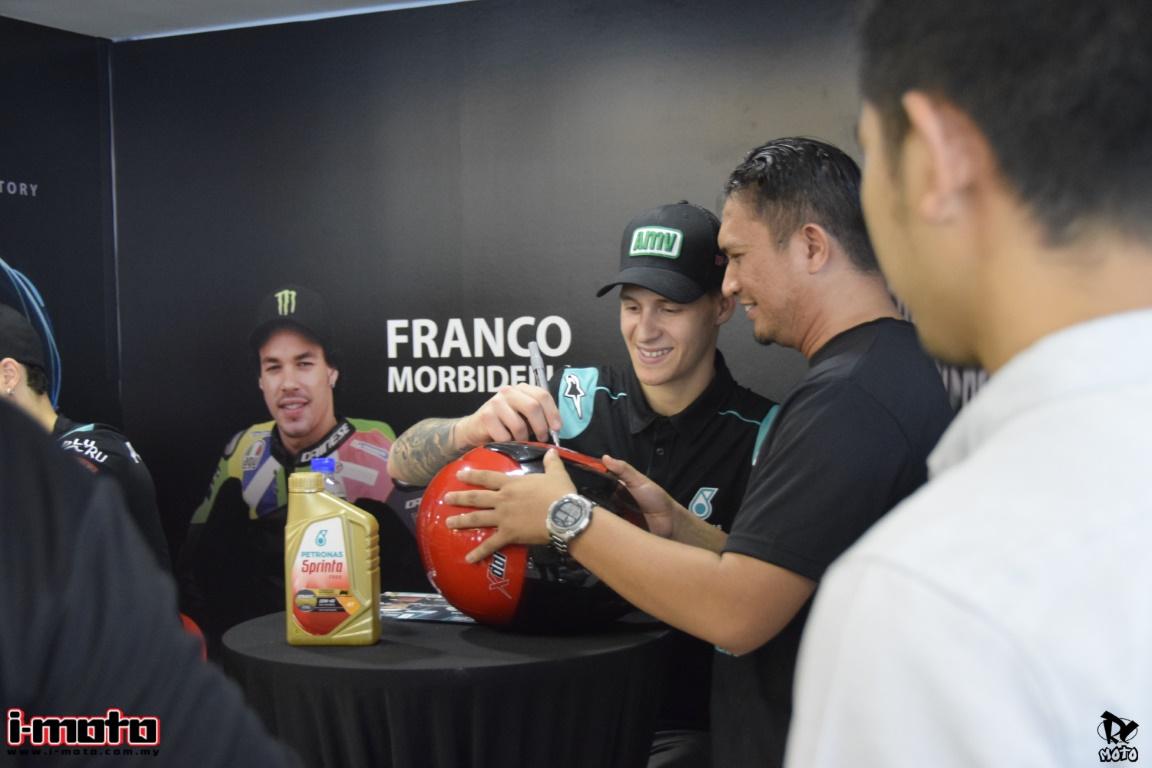 MEET AND GREET SESSION WITH FRANCO MORBIDELLI AND FABIO QUARTARARO