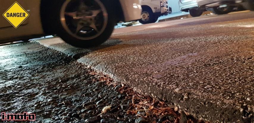 NEGLECTED ROADWORKS IN SS2/24 PETALING JAYA