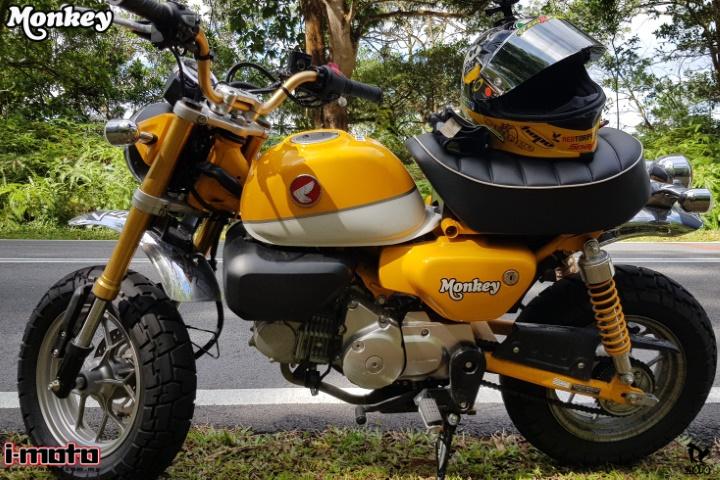 HONDA MONKEY: A MONKEY FOR THE CITY
