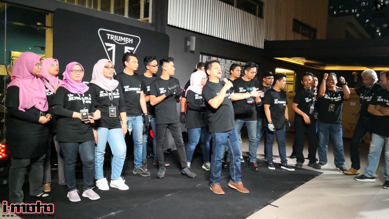 TRIUMPH MALAYSIA LAUNCHES 5 NEW MODERN CLASSIC MODELS