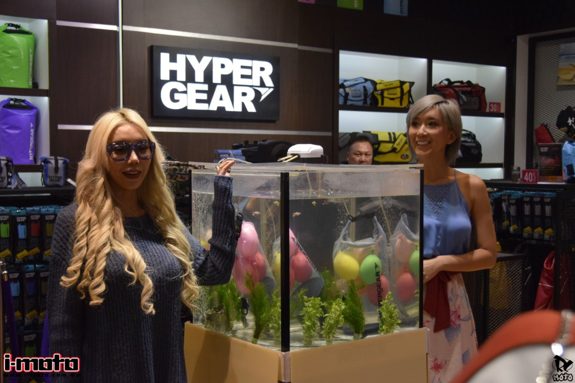 HYPERGEAR CLEAR TYPE DRY BAG LAUNCHED