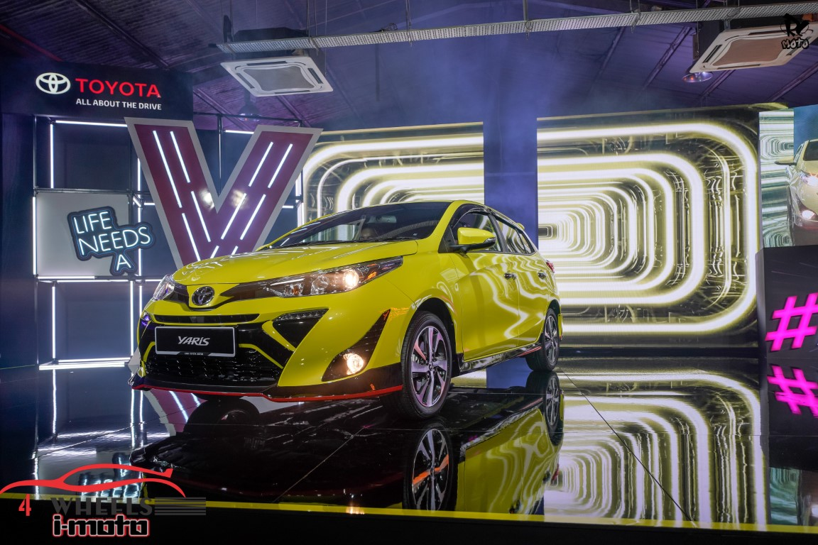 2019 TOYOTA YARIS LAUNCHED FROM RM70,888 TO RM83,888