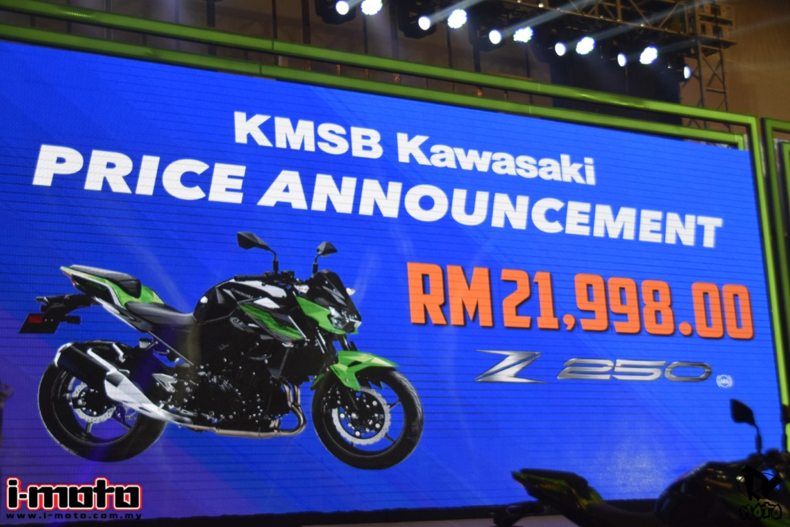 NEW KAWASAKI Z250 ABS & Z400 SE ABS LAUNCHED FROM RM21,998 – RM28,755
