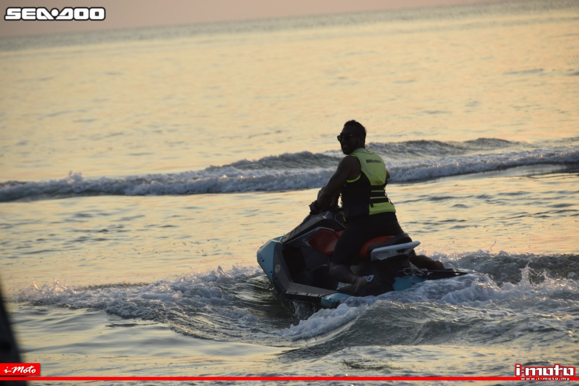 LET'S RIDE THE WAVES: SEA-DOO MALAYSIA SUNSET EXPERIENCE