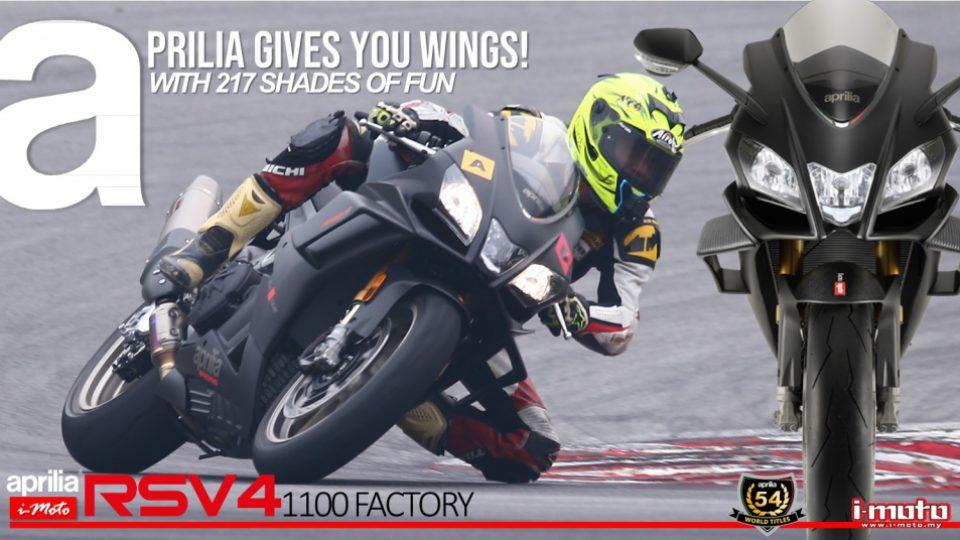 Aprilia Gives You Wings