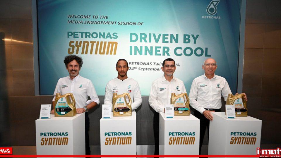 Cover Petronas Syntium Lewis Hamilton