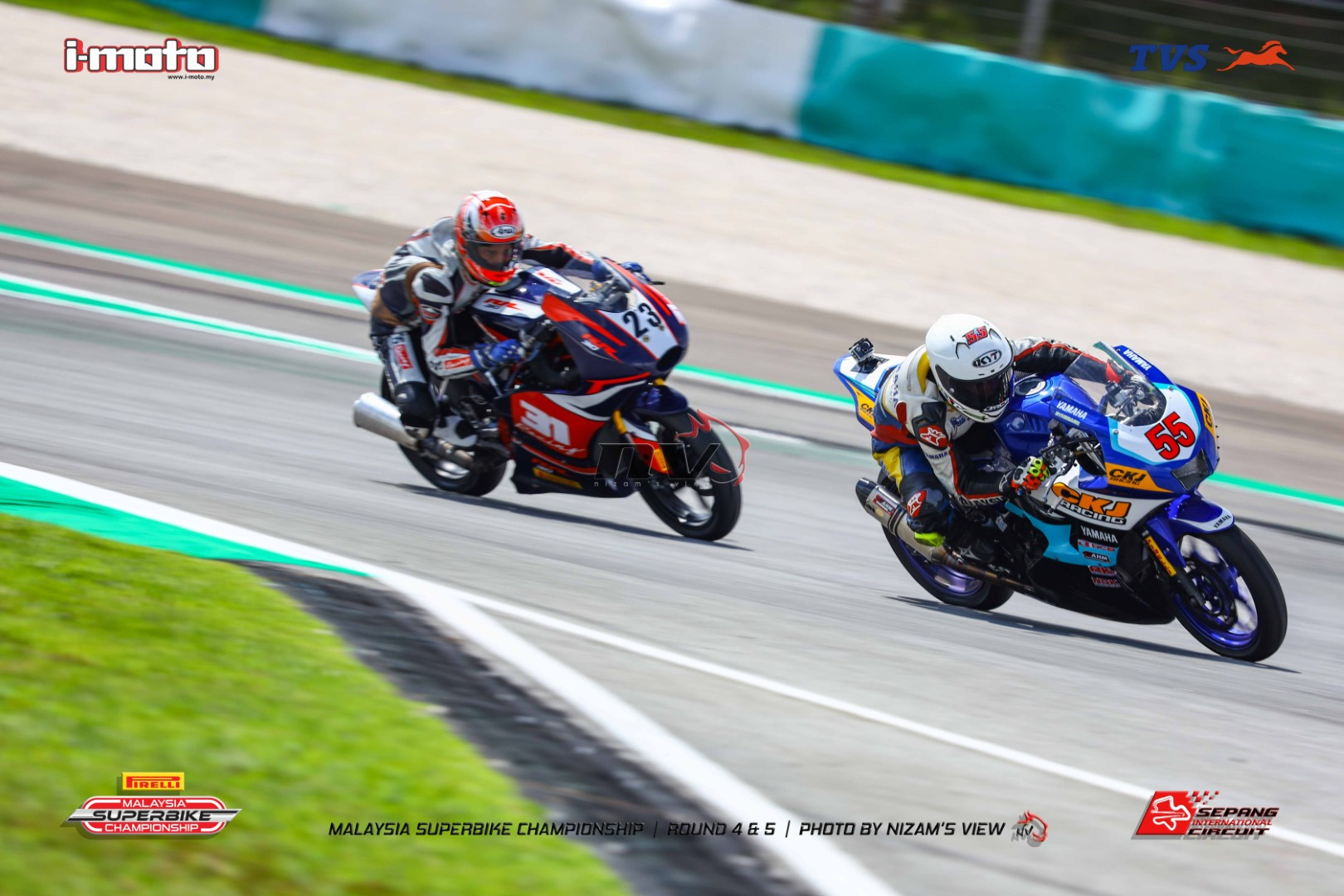 TVS RACING DEBUTS WITH FOUR PODIUM AND A MAIDEN WIN AT MSBK RD.  4 & 5